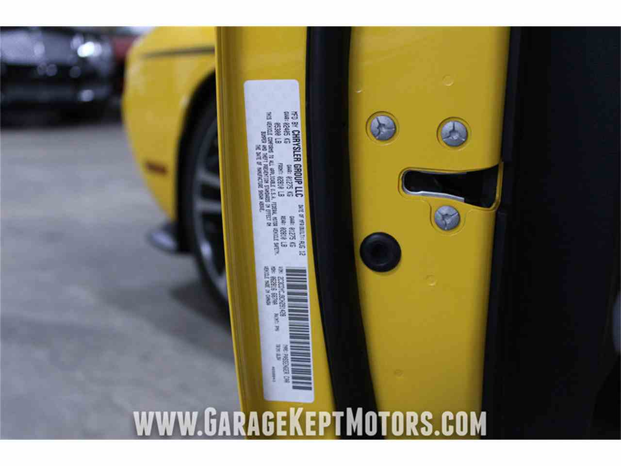 Large Picture of 2012 Challenger SRT8 392 Yellow Jacket located in Grand Rapids Michigan Offered by Garage Kept Motors - MAXR
