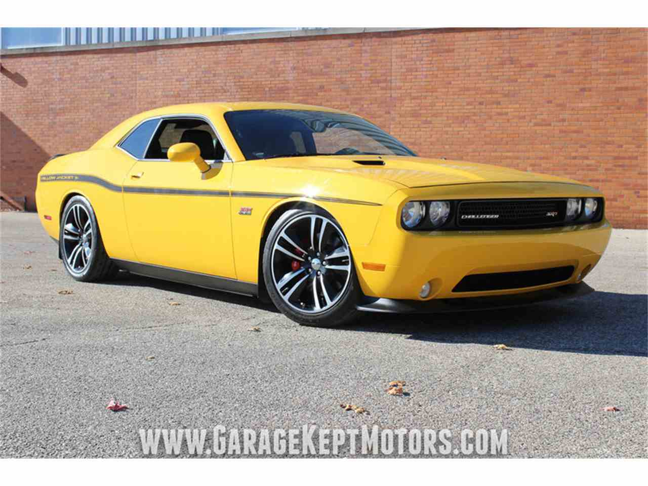 Large Picture of 2012 Challenger SRT8 392 Yellow Jacket located in Michigan - $36,500.00 Offered by Garage Kept Motors - MAXR