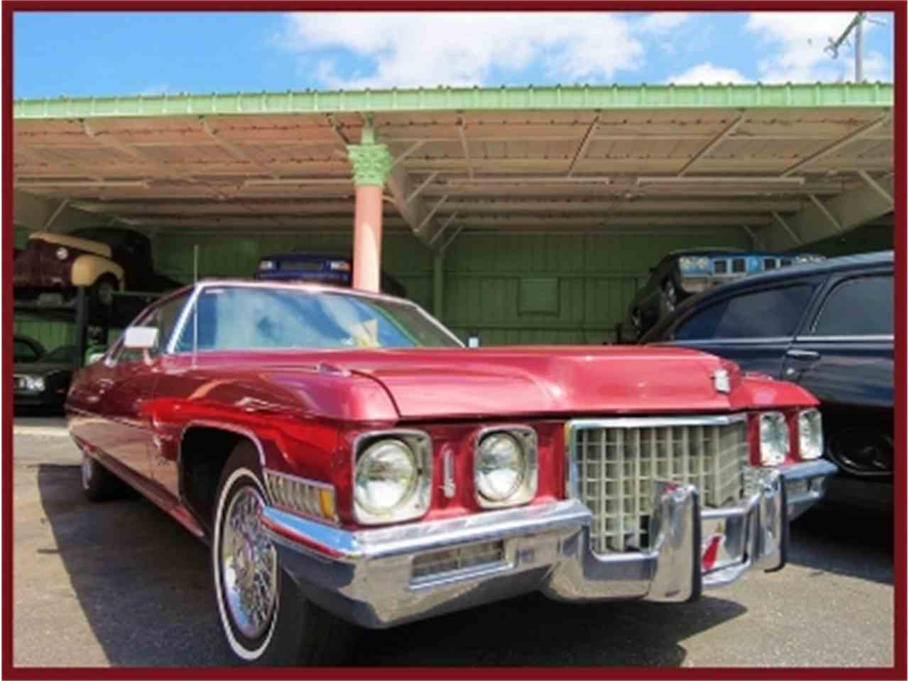 Large Picture of '71 Cadillac DeVille - $8,500.00 Offered by Sobe Classics - MF6M