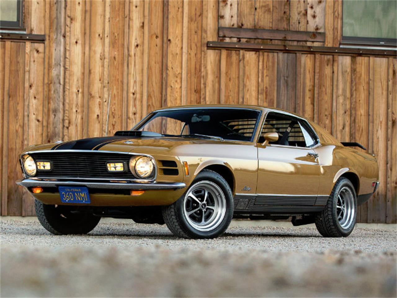 Large Picture of '70 Mustang - MF8B