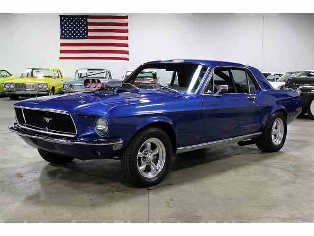 Picture of Classic '68 Ford Mustang located in Kentwood Michigan - $17,900.00 Offered by GR Auto Gallery - MFAY