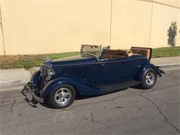Picture of '34 Ford Roadster located in Brea California Auction Vehicle Offered by Highline Motorsports - MFJB