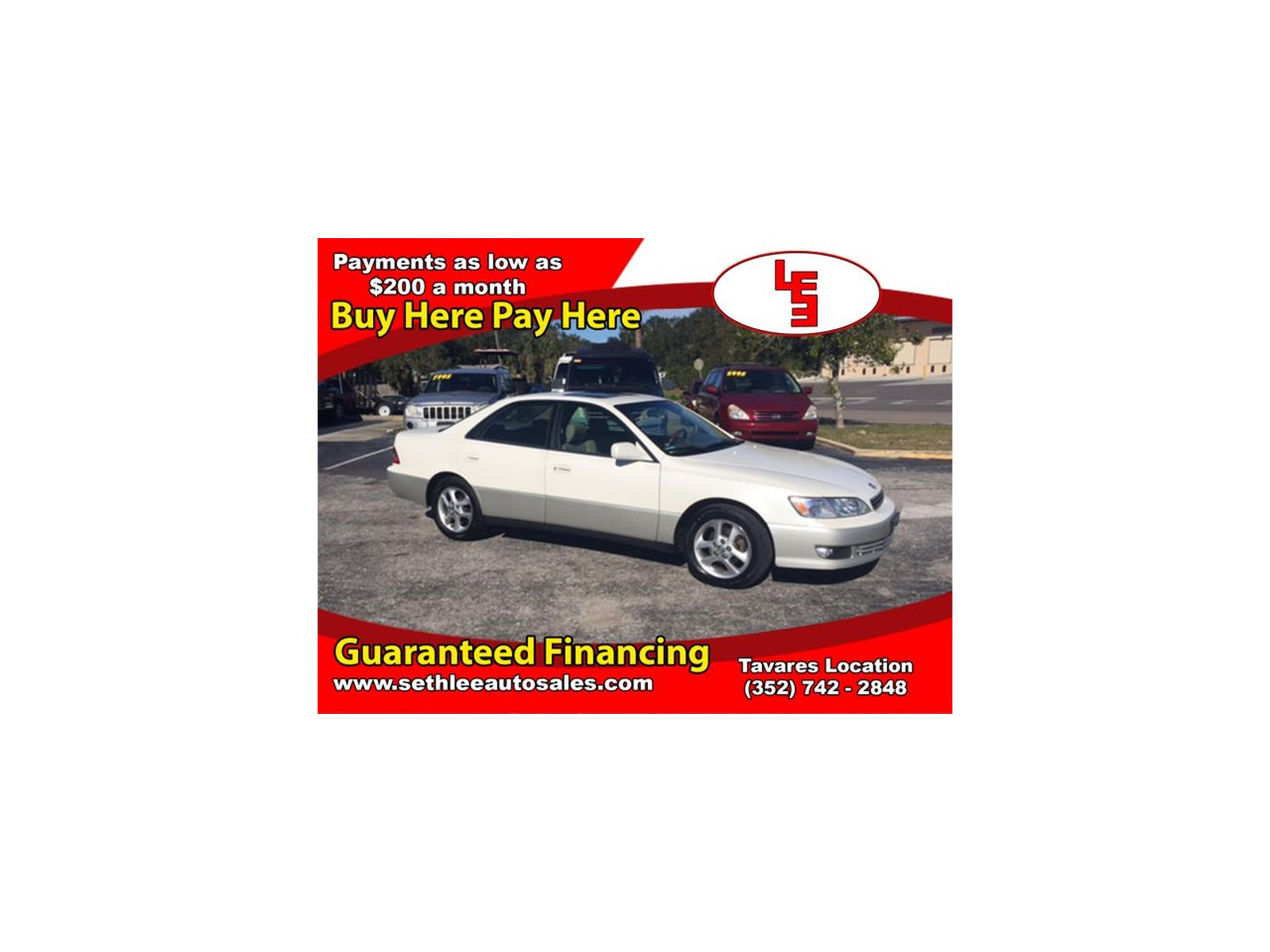 2001 lexus es300 for sale classiccars cc 1046613 large picture of 01 es300 mfkl publicscrutiny Choice Image