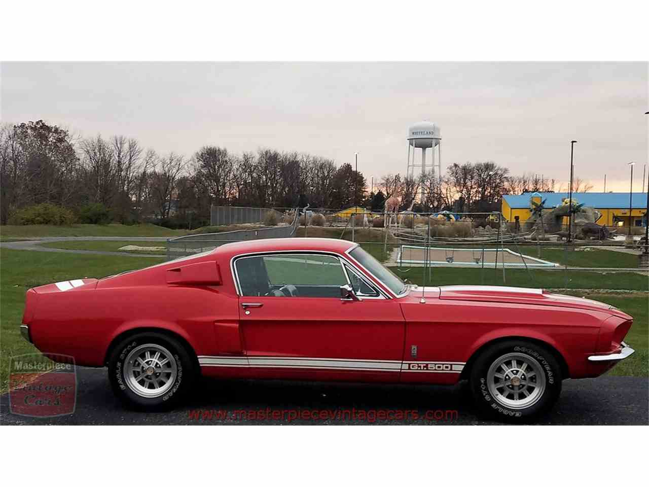 Large Picture of 1967 Shelby GT500 located in Whiteland Indiana - $299,900.00 Offered by Masterpiece Vintage Cars - MFLG