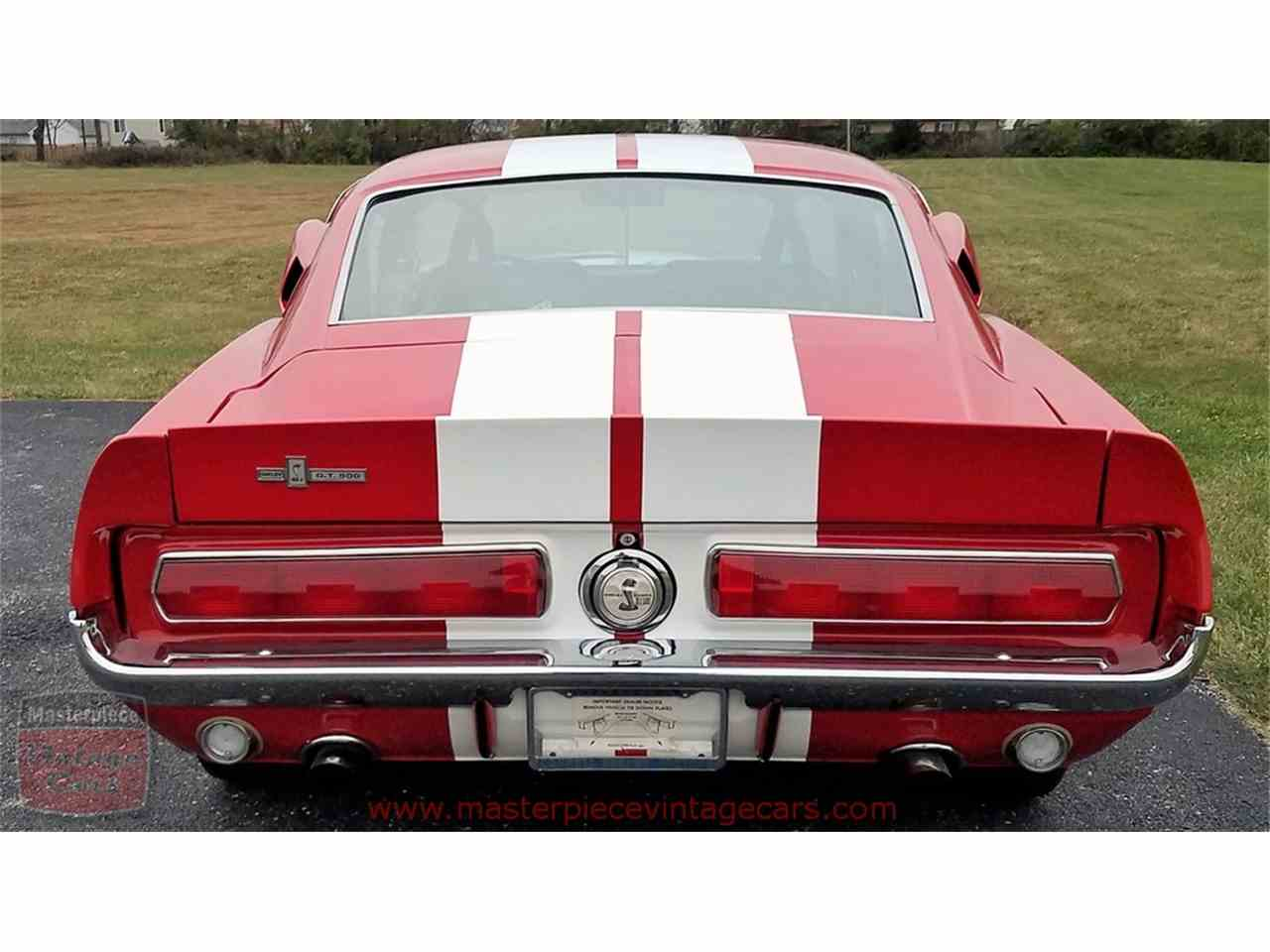 Large Picture of '67 Shelby GT500 located in Whiteland Indiana - $299,900.00 Offered by Masterpiece Vintage Cars - MFLG