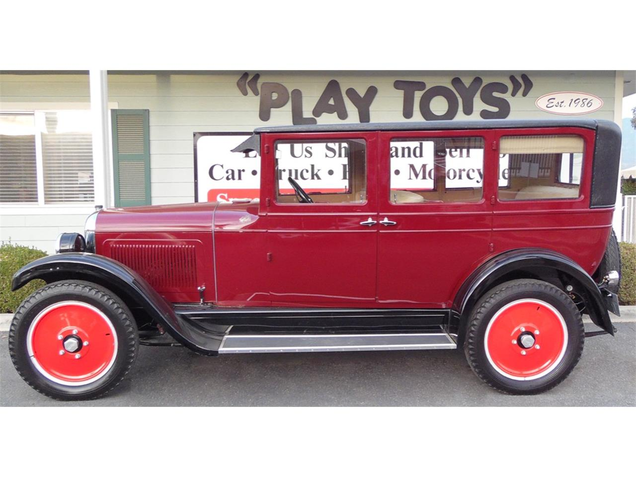 Large Picture of '25 Willys Sedan located in California Offered by Play Toys Classic Cars - MFMK