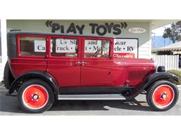 Picture of Classic 1925 Willys Sedan located in Redlands California Offered by Play Toys Classic Cars - MFMK