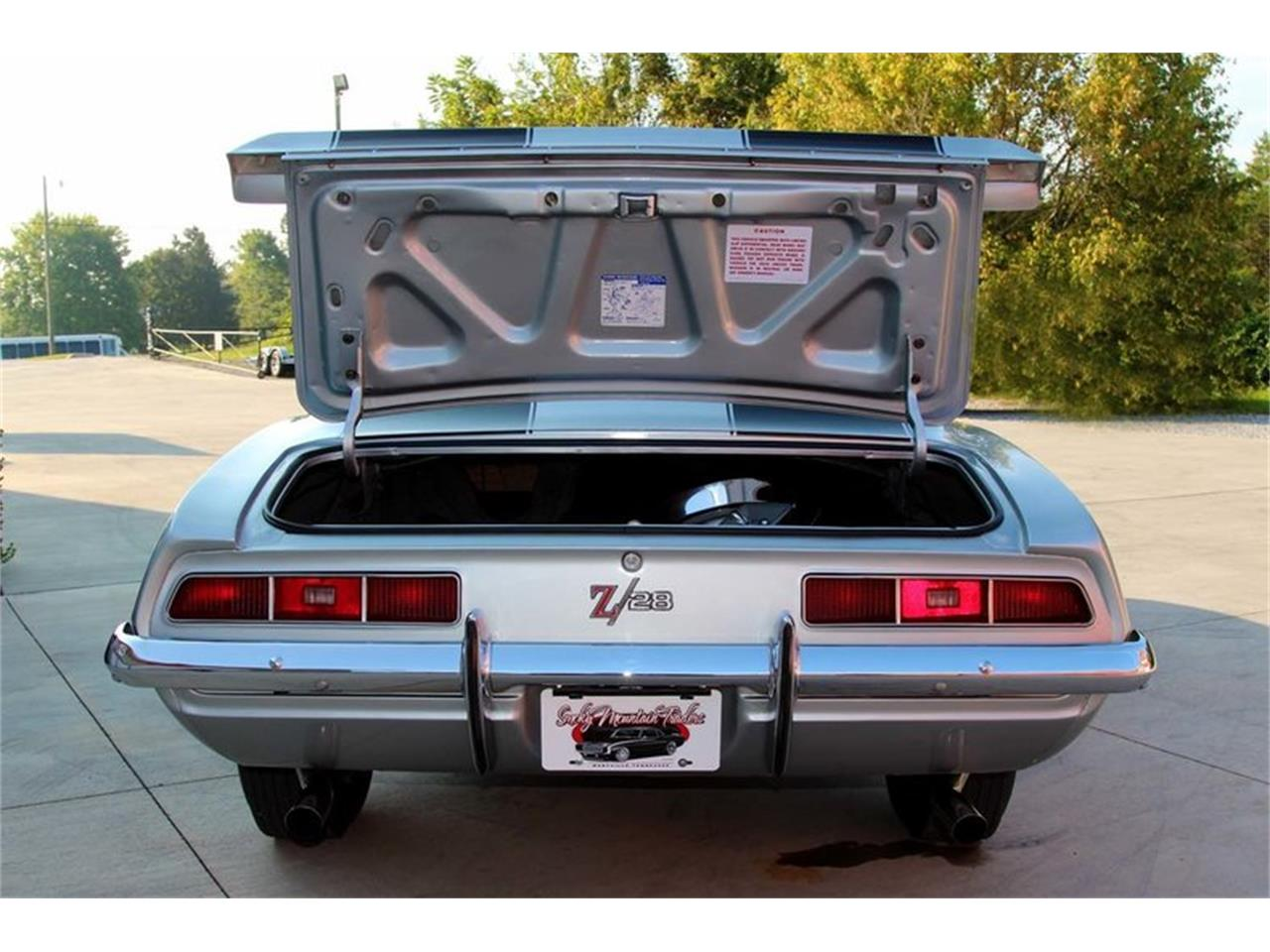 Large Picture of '69 Chevrolet Camaro Z28 located in Lenoir City Tennessee - $82,995.00 - MFNS
