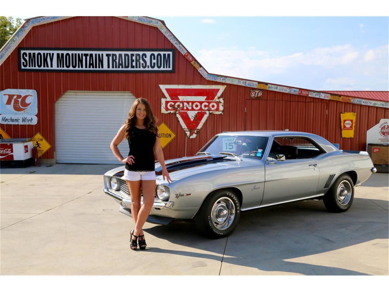 Large Picture of 1969 Chevrolet Camaro Z28 located in Lenoir City Tennessee - $82,995.00 - MFNS