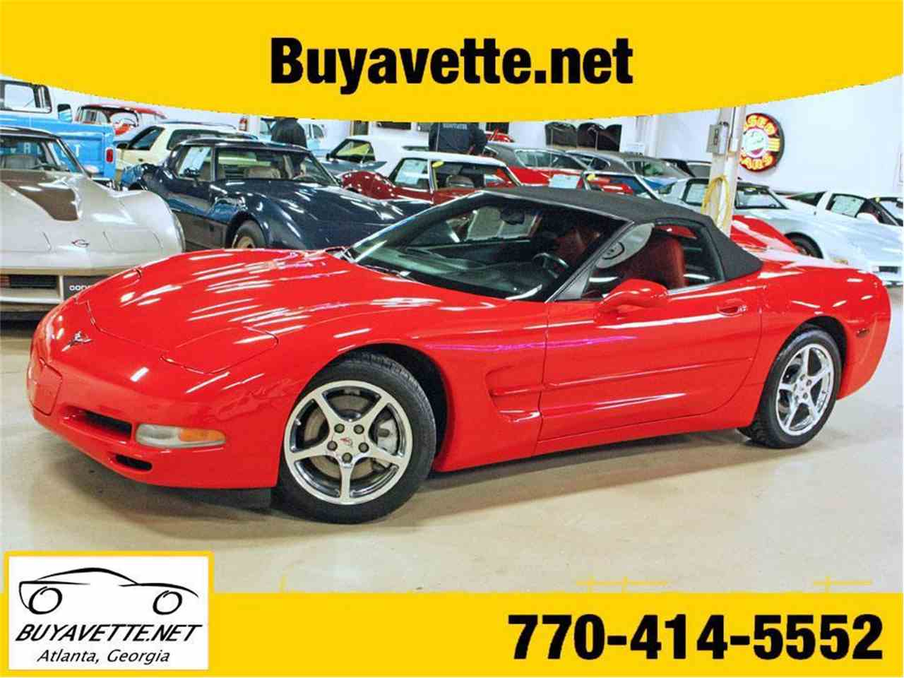 Large Picture of 2002 Chevrolet Corvette located in Atlanta Georgia Offered by Buyavette - MFOA
