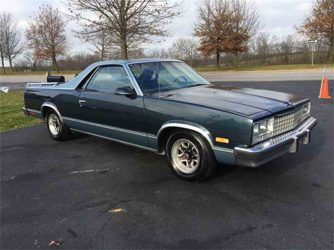 Large Picture of 1986 El Camino located in Paris  Kentucky - MFS4