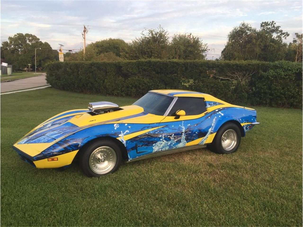 Large Picture of '73 Corvette located in Texas Auction Vehicle - MB01