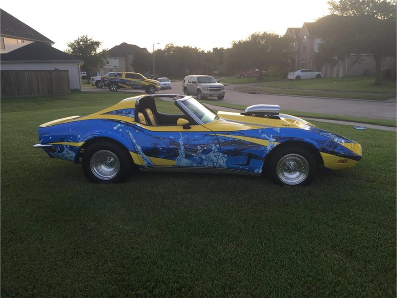 Large Picture of '73 Chevrolet Corvette located in Houston Texas Auction Vehicle - MB01