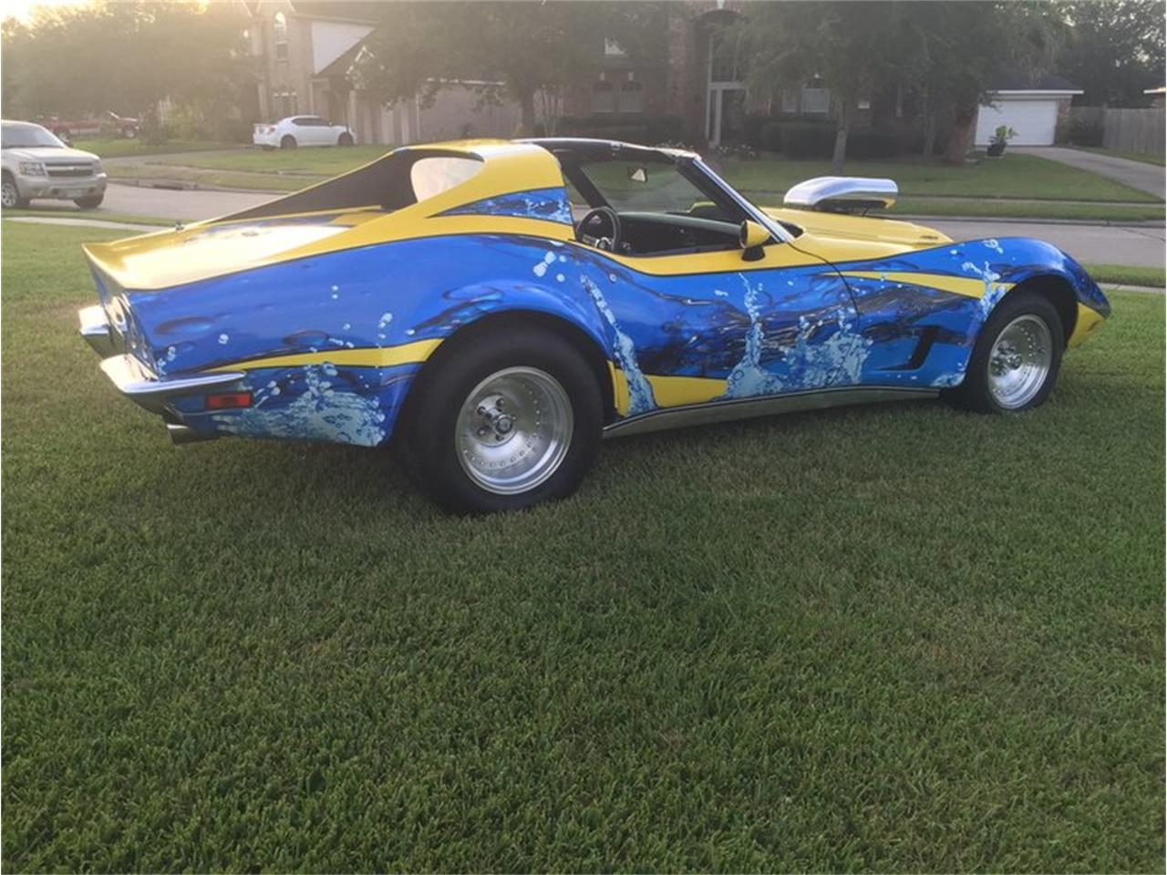 Large Picture of Classic 1973 Chevrolet Corvette located in Houston Texas Auction Vehicle Offered by Dan Kruse Classics - MB01