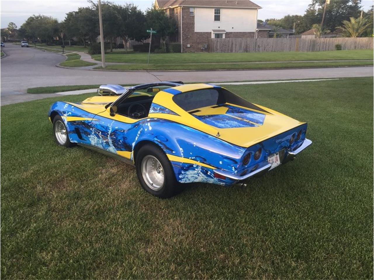 Large Picture of '73 Chevrolet Corvette located in Texas Auction Vehicle - MB01