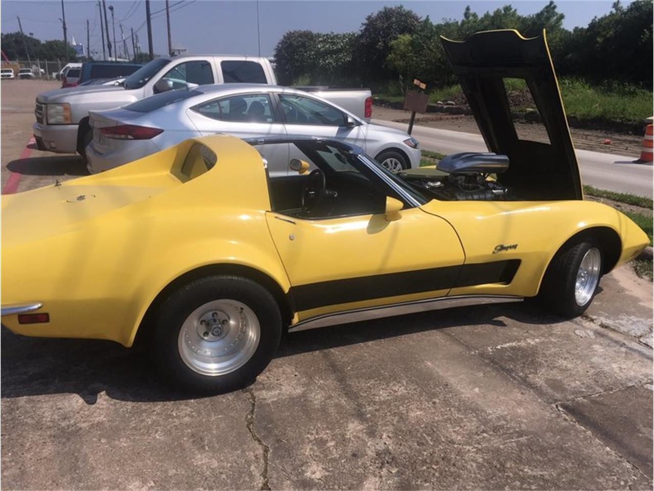 Large Picture of '73 Corvette located in Houston Texas Offered by Dan Kruse Classics - MB01