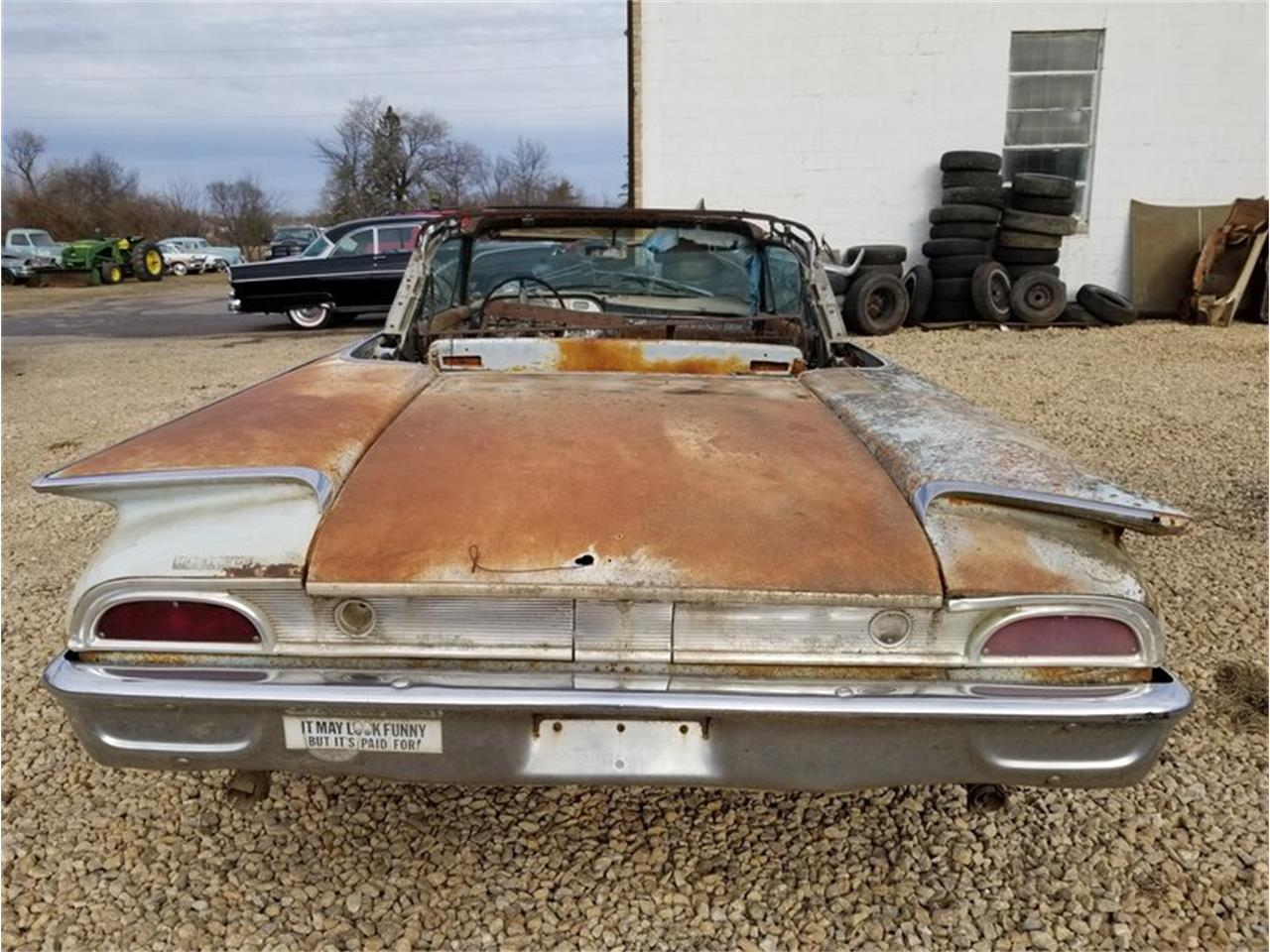Large Picture of '60 Ford Sunliner - $6,900.00 Offered by Unique Specialty And Classics - MFTO