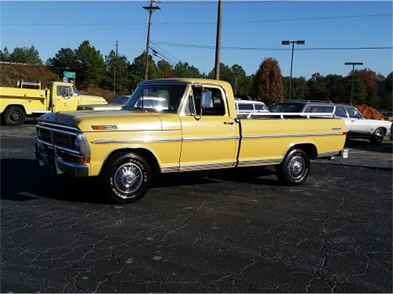 Large Picture of '72 Ford F100 located in South Carolina Offered by Dream Cars of the Carolinas - MFZH