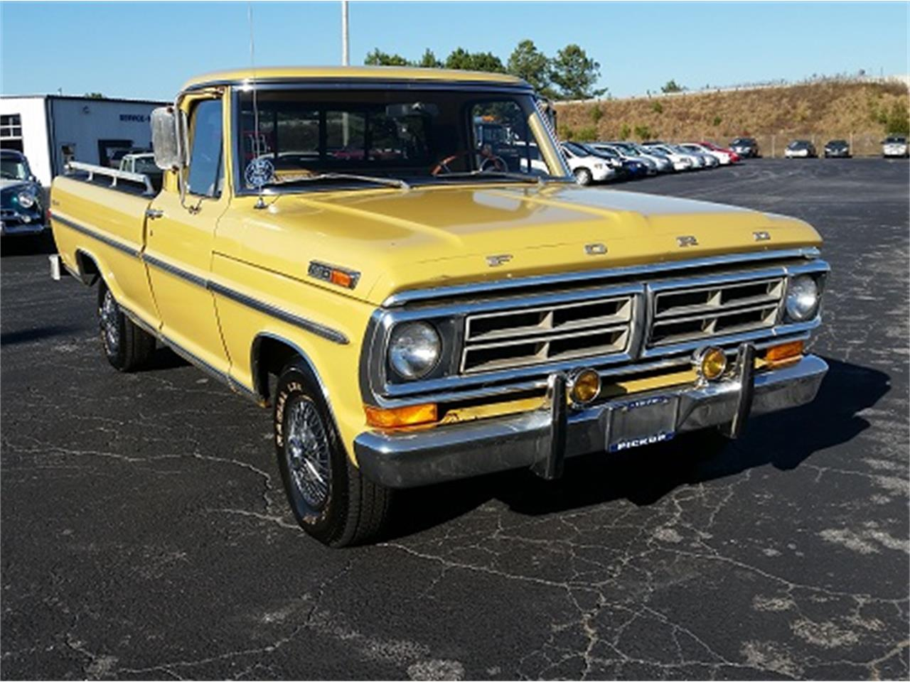 Large Picture of 1972 Ford F100 located in Simpsonsville South Carolina Offered by Dream Cars of the Carolinas - MFZH