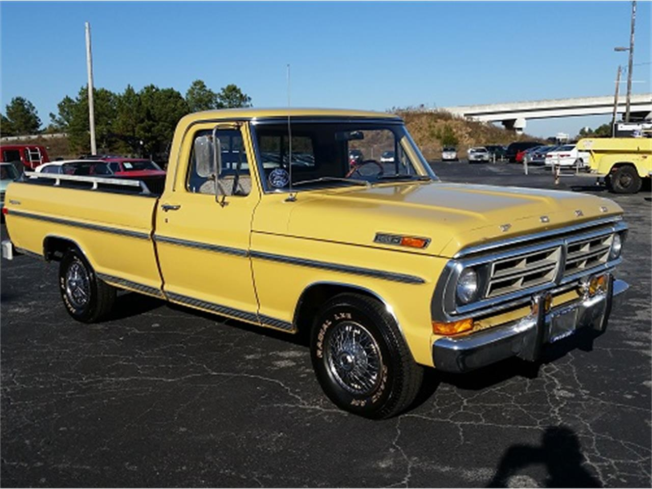Large Picture of Classic '72 F100 located in Simpsonsville South Carolina - $12,990.00 Offered by Dream Cars of the Carolinas - MFZH