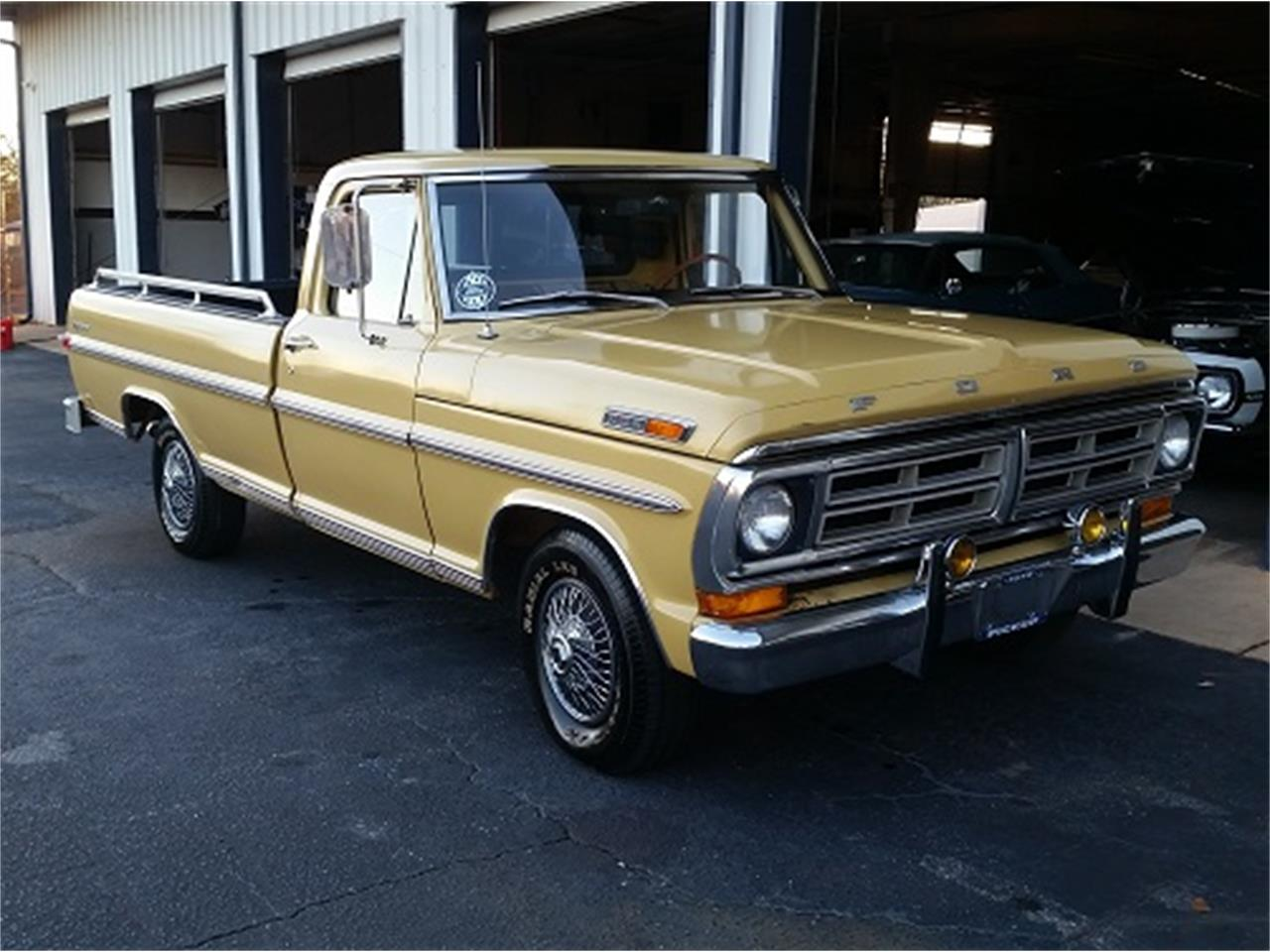 Large Picture of 1972 F100 located in Simpsonsville South Carolina - MFZH