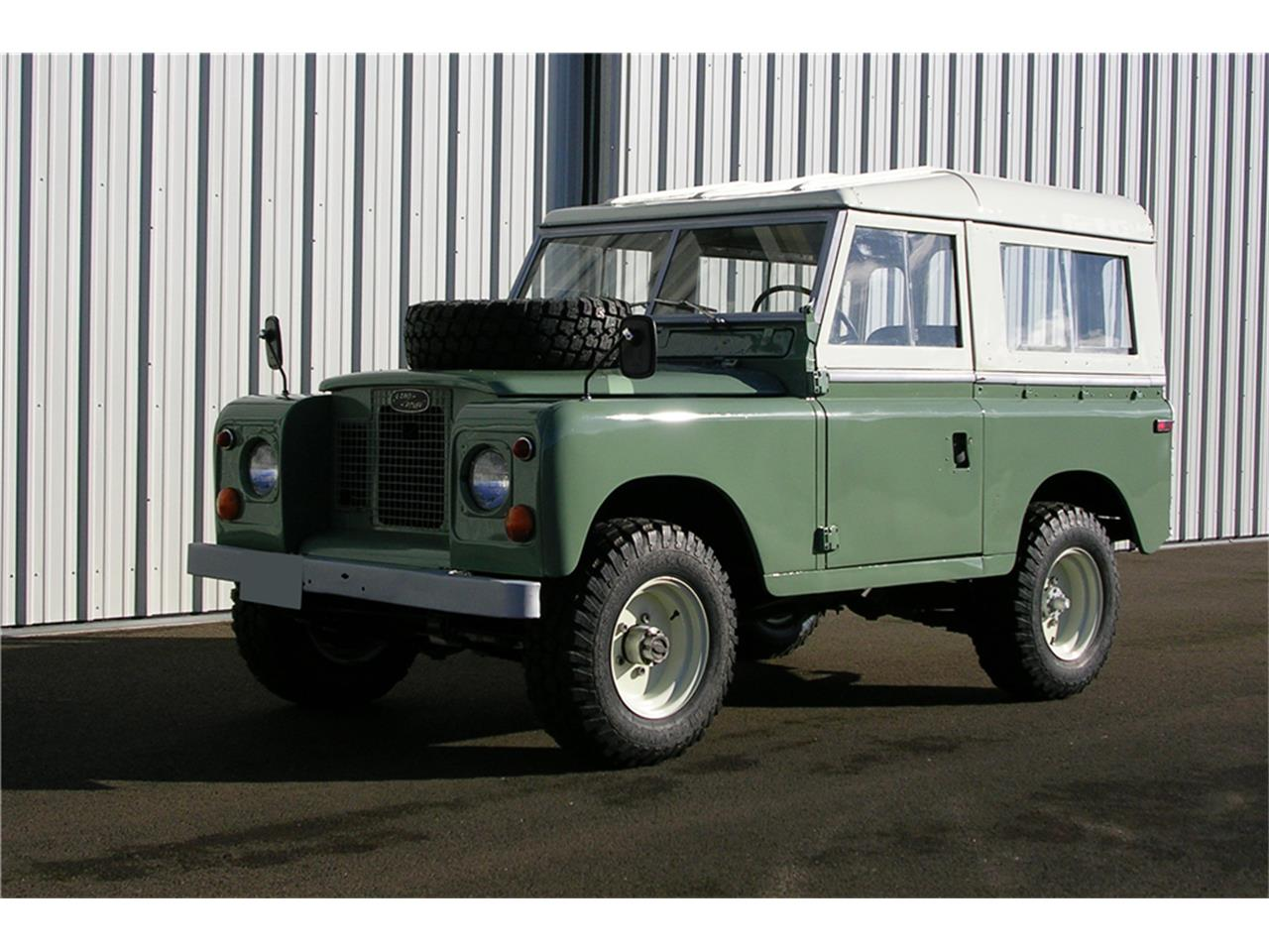 1971 Land Rover Series IIA for Sale | ClassicCars com | CC