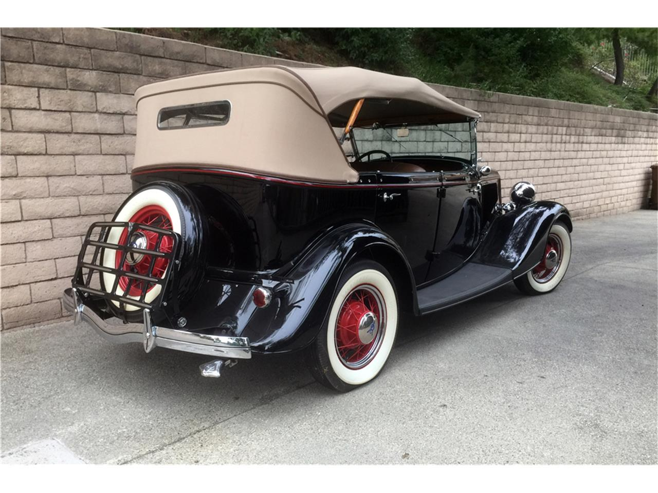 Large Picture of '34 Phaeton - MG82