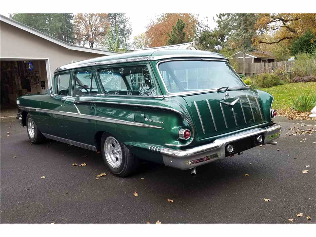 Large Picture of Classic '58 Chevrolet Nomad located in Arizona Offered by Barrett-Jackson Auctions - MG8L
