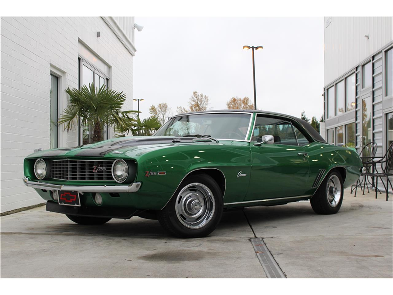 Large Picture of '69 Camaro Z28 Auction Vehicle - MG91
