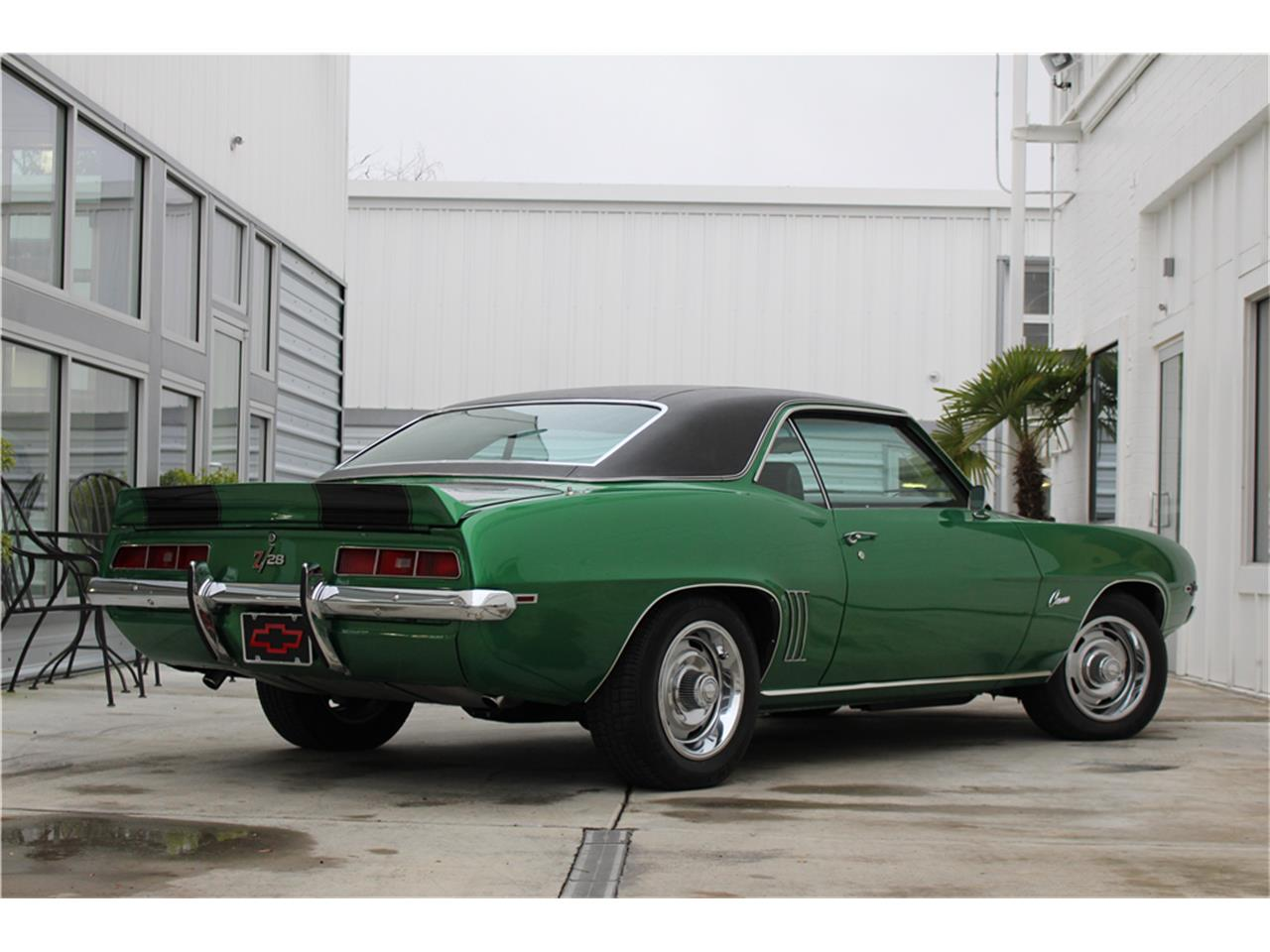 Large Picture of '69 Chevrolet Camaro Z28 Auction Vehicle - MG91