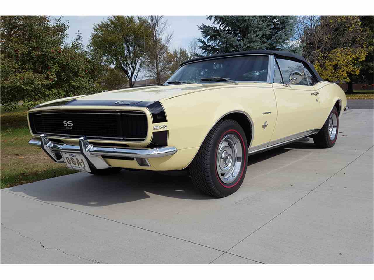 Large Picture of 1967 Chevrolet Camaro located in Scottsdale Arizona Auction Vehicle Offered by Barrett-Jackson Auctions - MG93