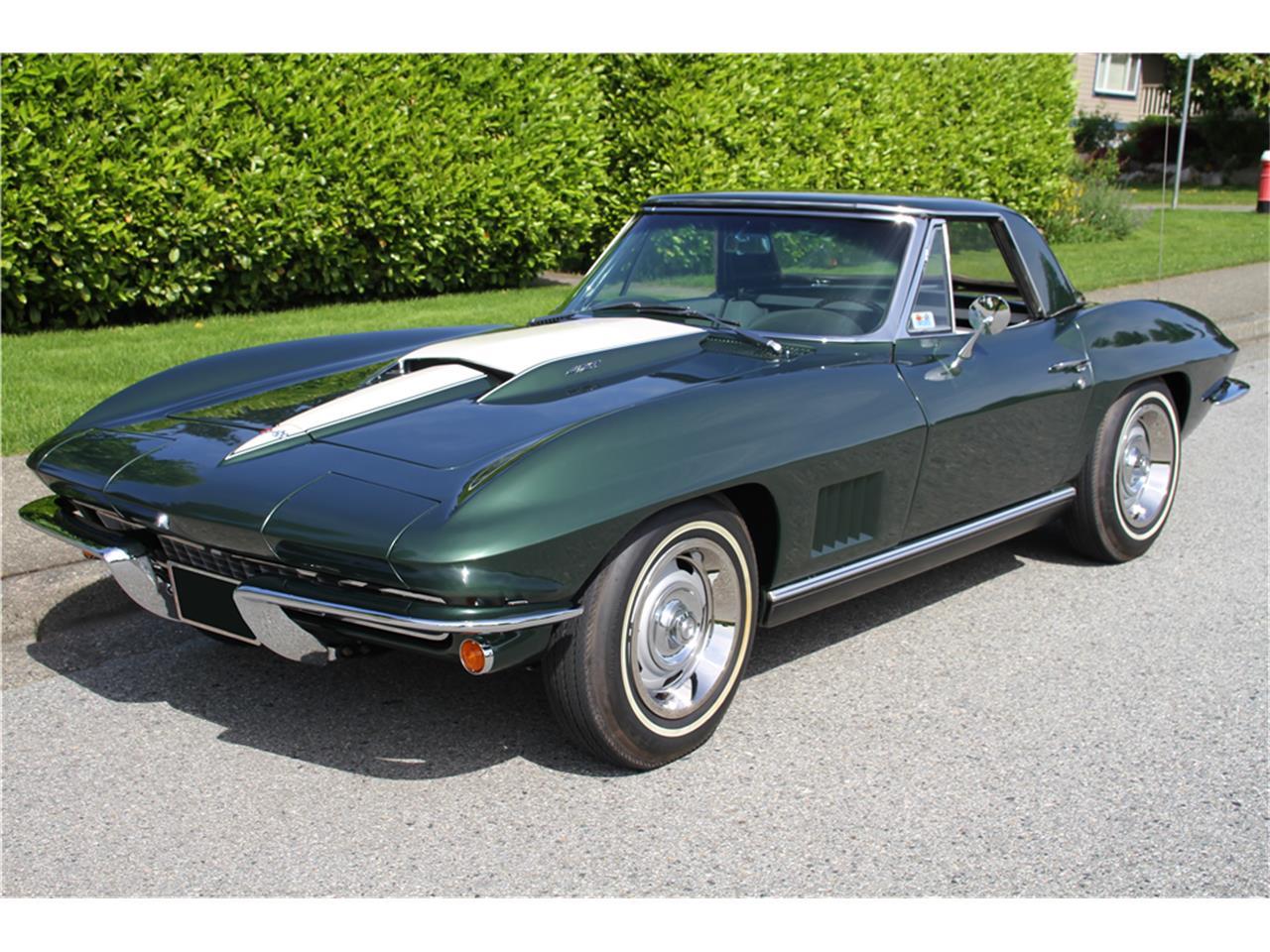 Large Picture of Classic '67 Chevrolet Corvette Auction Vehicle - MGBP