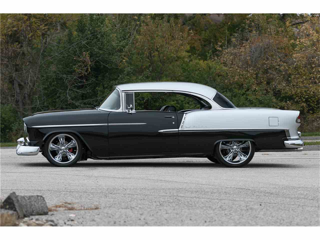 Large Picture of Classic '55 Chevrolet Bel Air Offered by Barrett-Jackson Auctions - MGCL