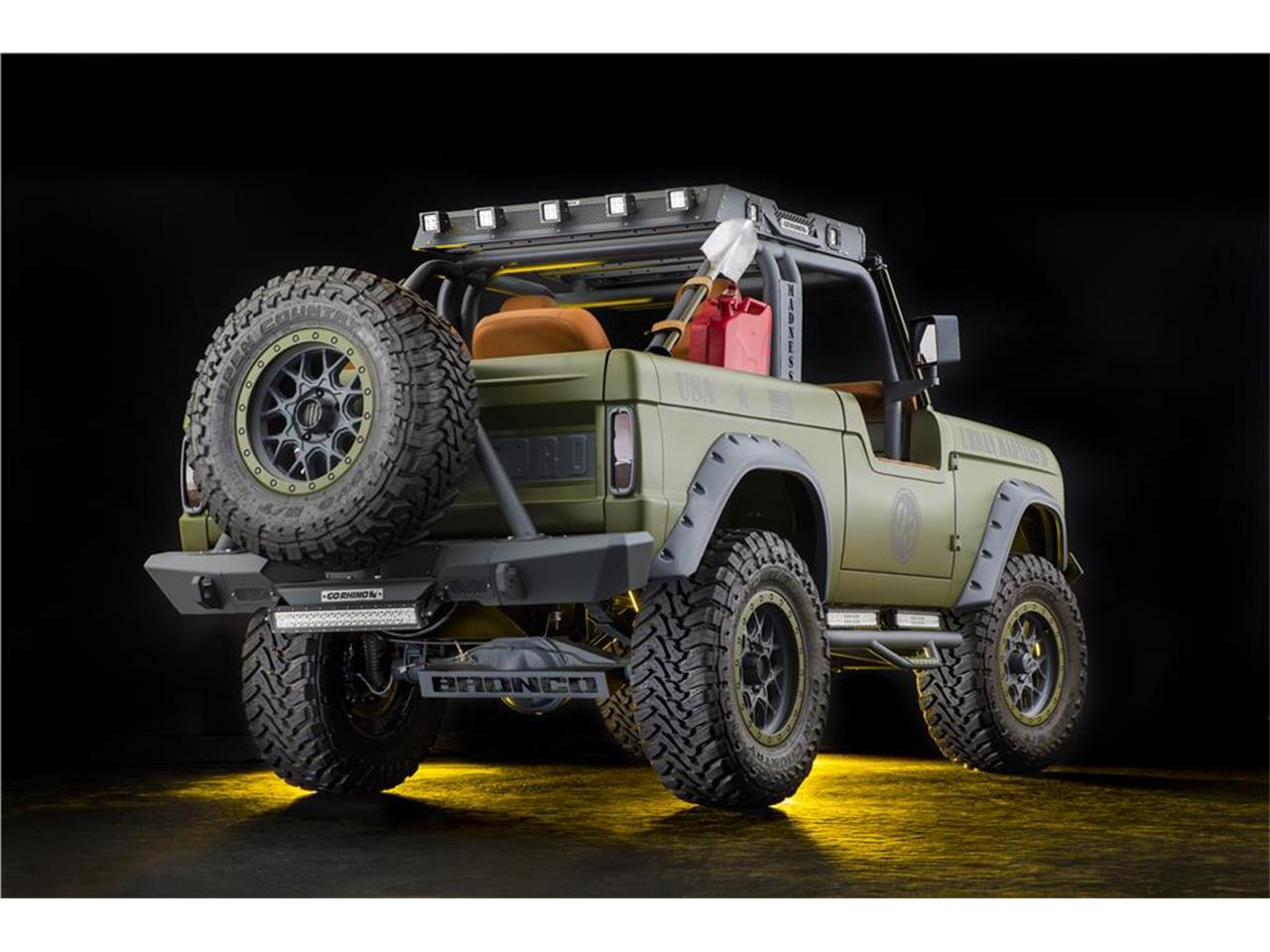 Large Picture of '69 Bronco Auction Vehicle Offered by Barrett-Jackson Auctions - MGEC