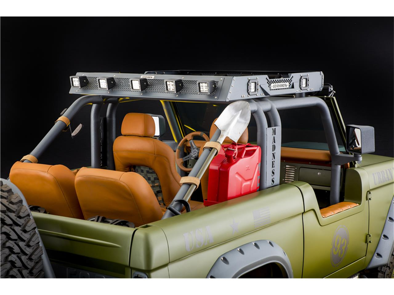 Large Picture of 1969 Ford Bronco located in Scottsdale Arizona - MGEC