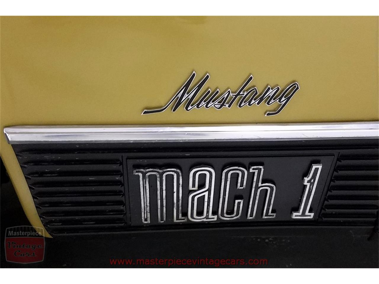 Large Picture of '70 Mustang Mach 1 - MGFP