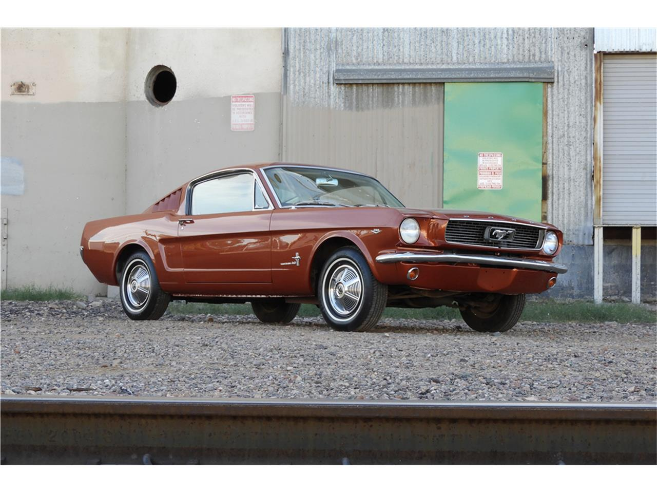 Large Picture of 1966 Mustang Offered by Barrett-Jackson Auctions - MGGJ