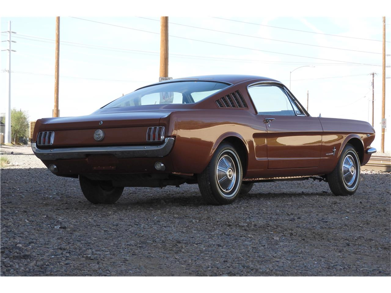 Large Picture of '66 Mustang Auction Vehicle Offered by Barrett-Jackson Auctions - MGGJ