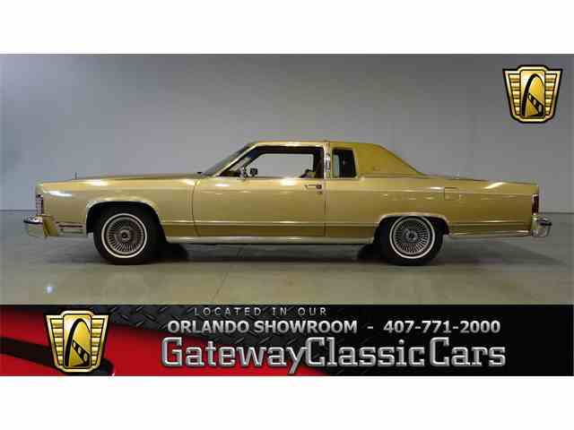 Picture of 1979 Lincoln Continental located in Lake Mary Florida - $14,995.00 Offered by Gateway Classic Cars - Orlando - MGIE