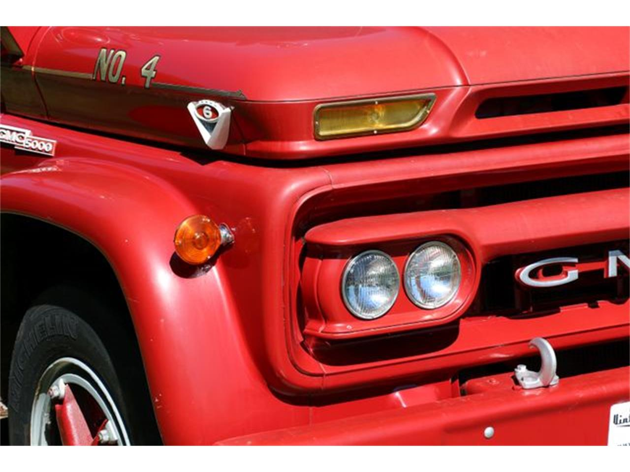 Large Picture of '64 Fire Truck - MGII