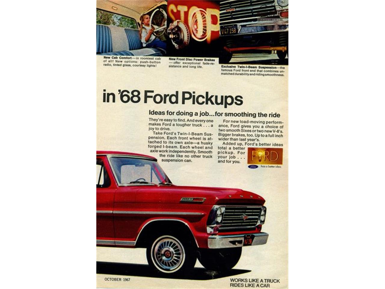 Large Picture of '68 F250 located in Colorado Offered by Worldwide Vintage Autos - MGKS