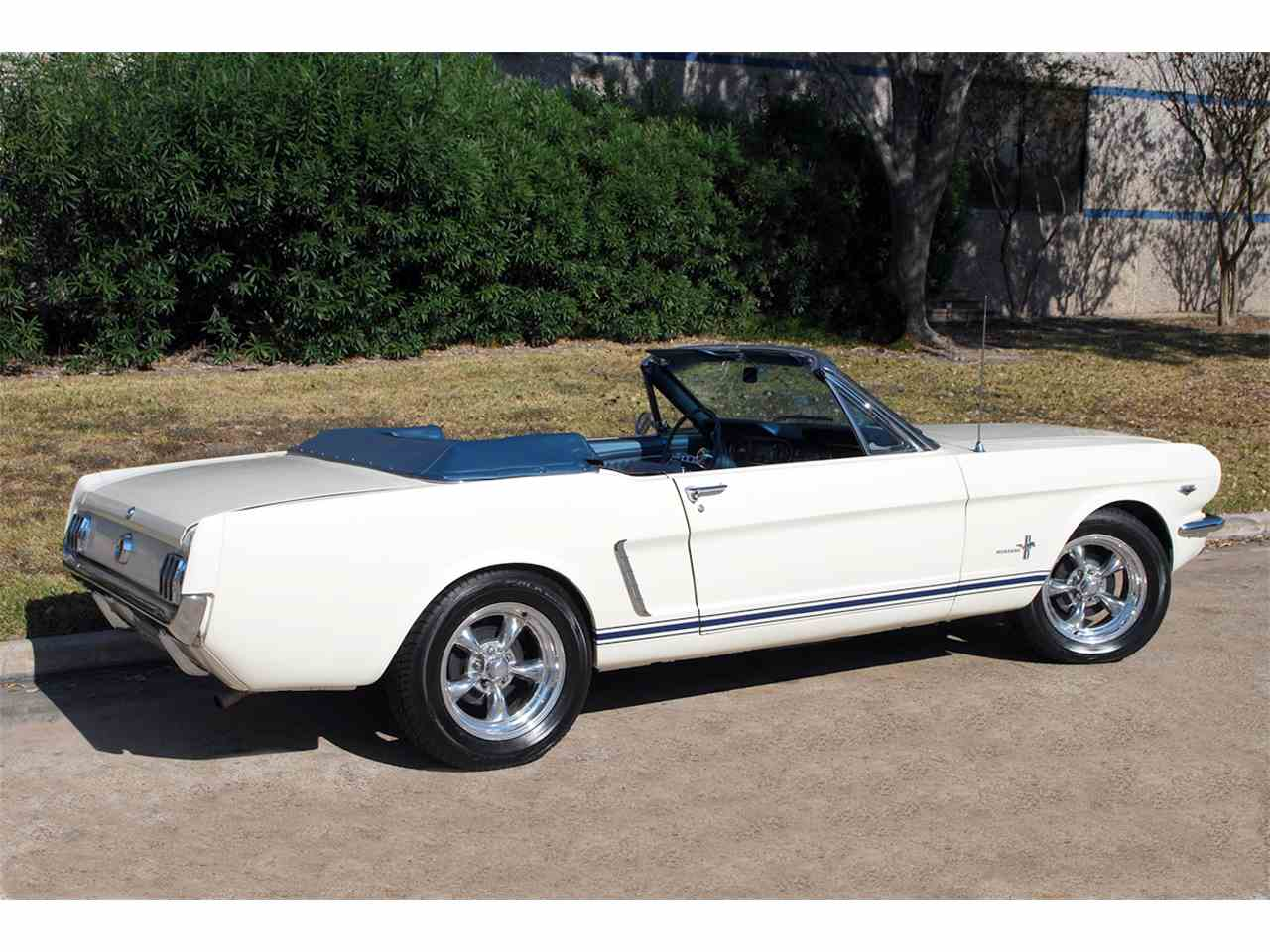 Large Picture of '65 Ford Mustang located in Houston Texas - $34,900.00 Offered by Auto Collectors Garage - MGNG