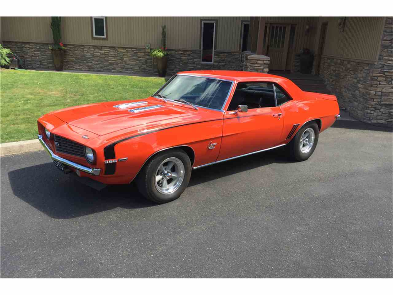 Large Picture of '69 Chevrolet Camaro SS Auction Vehicle - MGPB