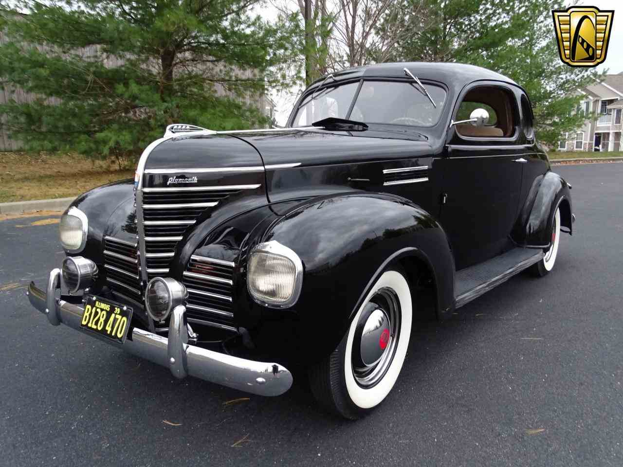Large Picture of Classic '39 Plymouth 2-Dr Coupe - $17,995.00 Offered by Gateway Classic Cars - St. Louis - MGQ5