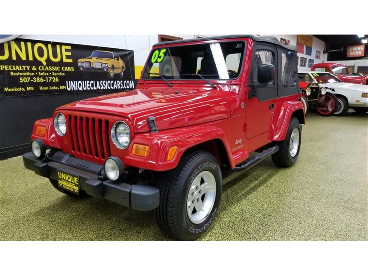Large Picture of '05 Wrangler Rocky Mountain Edition 4x4 located in Mankato Minnesota Offered by Unique Specialty And Classics - MGQV