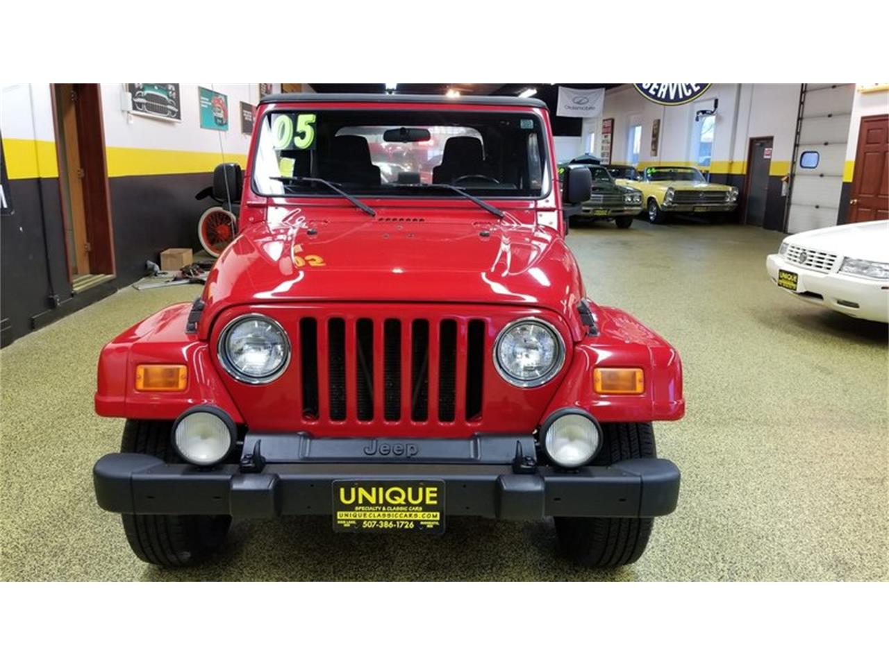 Large Picture of 2005 Jeep Wrangler Rocky Mountain Edition 4x4 located in Mankato Minnesota - $14,900.00 Offered by Unique Specialty And Classics - MGQV