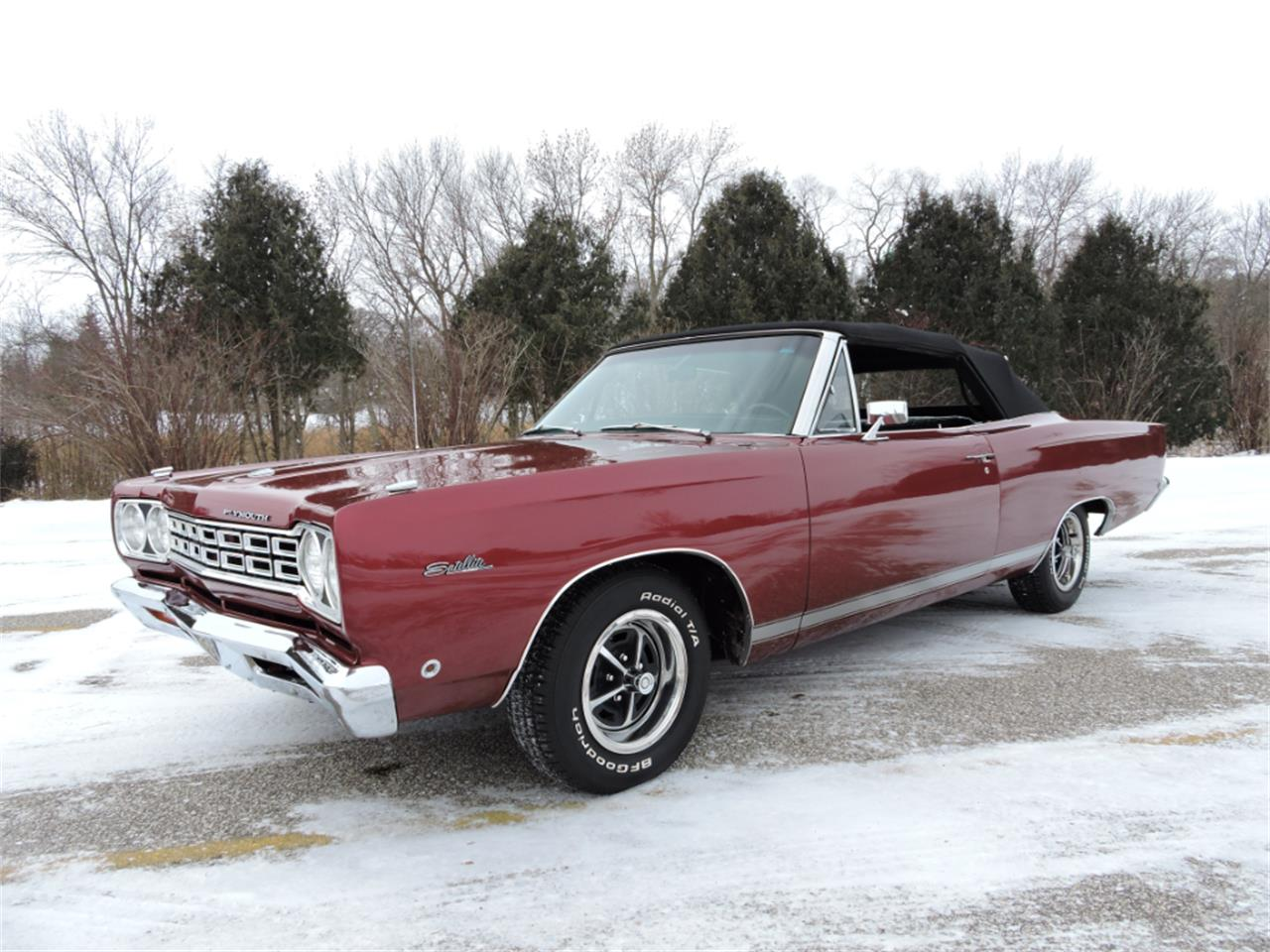 Large Picture of Classic 1968 Plymouth Satellite located in Greene Iowa Offered by Coyote Classics - MGSN