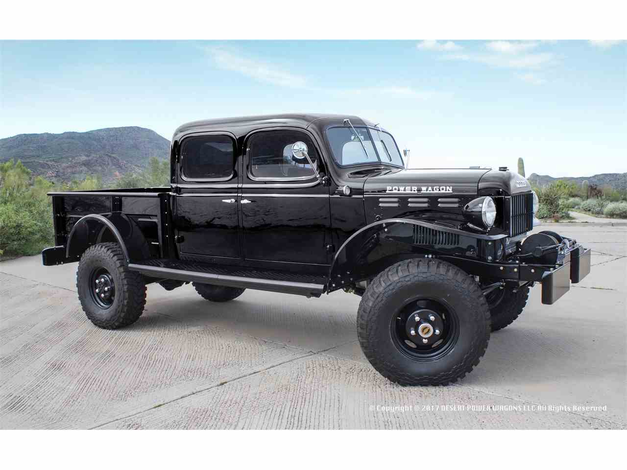 1947 dodge power wagon for sale cc 1040831. Black Bedroom Furniture Sets. Home Design Ideas