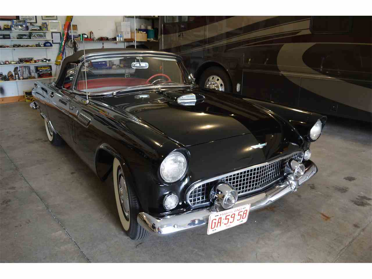 1956 ford thunderbird for sale cc 1048319. Black Bedroom Furniture Sets. Home Design Ideas