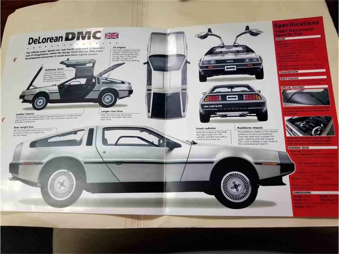 Large Picture of 1981 DeLorean DMC-12 located in Lithia Springs Georgia - $49,995.00 Offered by Streetside Classics - Atlanta - MGXM